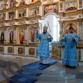 Архиерейское служение в соборе в честь Живоначальной Троицы р. п. Ордынского (видео)