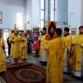 Архиерейская Литургия в соборе в честь Живоначальной Троицы р. п. Ордынского (видео)