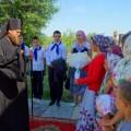 Паломническая поездка епископа Филиппа с детьми на остров в село Чингисы (видео)