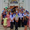 Детская Литургия в соборе в честь Живоначальной Троицы (видео)