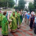 День памяти  прп. Сергия Радонежского в г. Карасуке (видео)