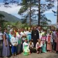 Епископ Филипп с детьми православного детского лагеря совершил поездку в Горный Алтай (видео)