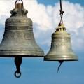 Освящение новых колоколов  собора в честь Живоначальной Троицы р. п. Ордынского