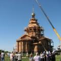 Освящение нового храма в честь Покрова Пресвятой Богородицы в. с. Верх-Каргате