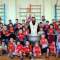Видеосюжет «Соборное крещение детей в Ордынской школе-интернате» (видео)