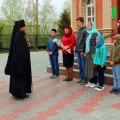 Литургия накануне Дня Победы в Кафедральном соборе г. Карасука (видео)