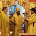 Архиерейское служение в Иоанно-Предтеченском мужском монастыре г. Новосибирска (видео)