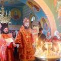 Архиерейский визит на праздник  — День города  Купино и освящение часовни прп. Сергия Радонежского на кладбище (видео)
