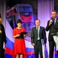 Поезд «За духовное возрождение России» прибыл в Чистоозёрный район (видео)