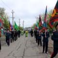 Крестный ход в г. Карасуке, посвященный 100-летию пограничных войск  России (видео)