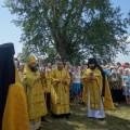 Престольный  праздник на острове в селе Чингиссы Ордынского района (видео)