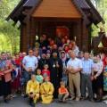 В Краснозерском санатория отметили престольный праздник (видео)