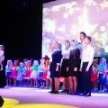 Архиерейская Рождественская  ёлка  в  Ордынске (видео)