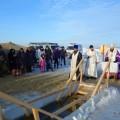 Архиерейское служение в праздник Крещения Господня в Карасуке (видео)