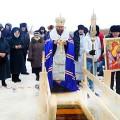 19 января — Крещение Господне в Карасуке