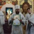 Великое освящение храма во имя прп. Сергия Радонежского в селе Довольном (видео)