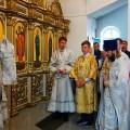 Архиерейская литургия в Кафедральном соборе г. Карасука (видео)