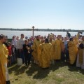 Престольный праздник  на острове в селе Чингиссы  возглавили два архиерея (видео)