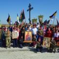 Крестный ход с казаками к месту Ирменского сражения  в селе Новопичугово (видео)