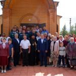 Поздравления с  открытием храма  св. равноапостольного  князя Владимира в г. Карасуке (видео)