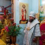 Архиерейское служение в Никольском храме р. п. Ордынское в День Крещения Руси (видео)