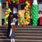 1 сентября.  День знаний.  Епископ Филипп поздравил учащихся технического лицея №176 г. Карасука (видео)