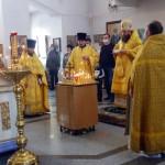 Архиерейское служение в Кафедральном соборе г. Карасука (видео)
