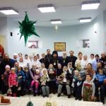 Рождественский концерт на территории Троицкого собора р. п. Ордынское (видео)
