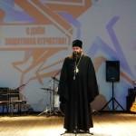 Епископ Филипп поздравил мужчин Карасукского района с Днем Защитника Отечества (видео)