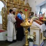 Архиерейское служение  в Кафедральном соборе г. Карасука в день празднования Сретения Господня (видео)