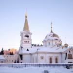 День празднования  Собора святых, в земле Новосибирской просиявших,  в Вознесенском кафедральном соборе
