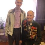Ученики воскресной школы в гостях у ветерана Великой Отечественной войны (видео)