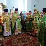 Престольный праздник в Троицком соборе  Ордынска (видео)