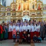 Епископ Филипп и епископ  Лука совершили Божественную литургию в Троицком соборе Ордынска (видео)