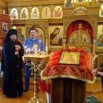 Архиерейское служение  в день престольного праздника  храма с. Ивановки Баганского района (видео)