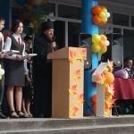 1 сентября — День знаний. Епископ Филипп поздравил учащихся технического лицея №176 г. Карасука (видео)