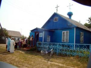 Купинский район, с.Метелёво — Храм в часть Казанской иконы Божией Матери