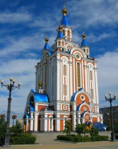 Совершен акт вандализма в отношении Успенского собора г. Хабаровска