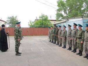 Преосвященный Владыка Филипп поздравил с Днём пограничника личный состав и ветеранов Пограничной службы