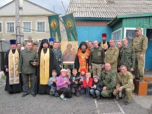 В Карасукской епархии епископа Филиппа и духовенство окружили пограничники
