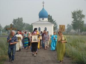 Празднование Дня Крещения Руси в с.Баган