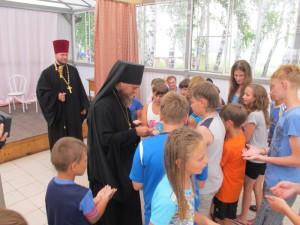 Жаркий июль в Карасукской епархии