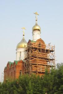 Храмы  строятся  там,  где есть вера православная