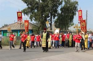 Паломники со всей Сибири съехались к храму Серафима Саровского в село Турнаево
