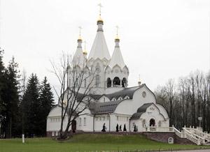 В годовщину начала массовых расстрелов на Бутовском полигоне епископ Воскресенский Савва совершил Божественную литургию в храме Новомучеников и исповедников Российских