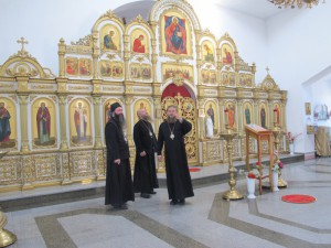 Гости Карасукской епархии