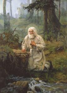 Он был и именем и духом Серафим