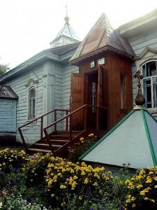 п.г.т. Ордынское — Храм свт. Николая