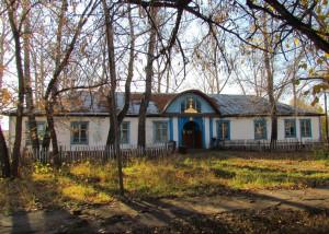 Доволенский район, с. Баклуши — Храм свт. Николая