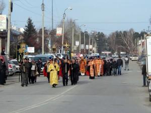 26 октября — крестный ход в Ордынске.  Память  Новомучеников  Новосибирских. (видео)